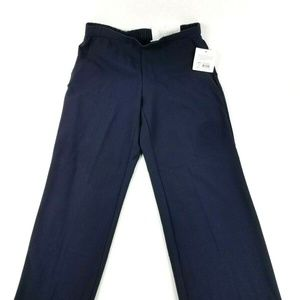 Croft & Barrow Women's Petite 6P Blue Pants